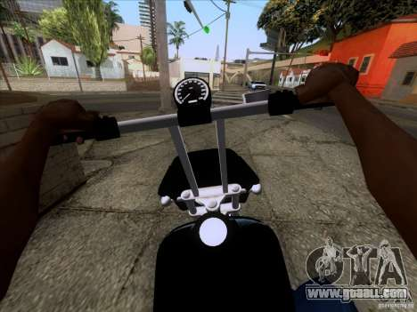 Harley Davidson FXD Super Glide for GTA San Andreas right view