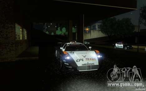 Maserati MC12 GT1 for GTA San Andreas upper view