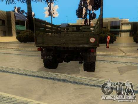 ZIL 4334 Higher patency for GTA San Andreas right view