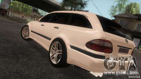 Mercedes-Benz E55 AMG for GTA San Andreas left view