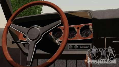 Plymouth Hemi Cuda 426 1971 for GTA San Andreas side view