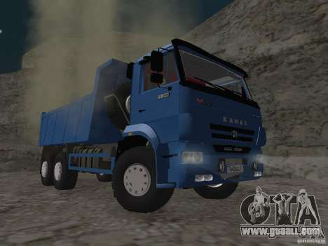 KAMAZ 65222 for GTA San Andreas