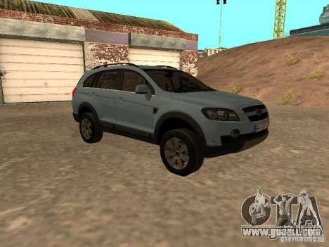Chevrolet Captiva for GTA San Andreas