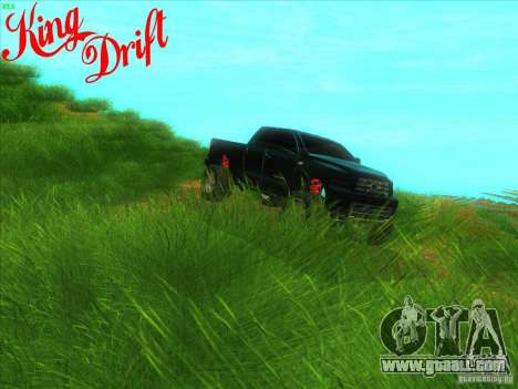 Toyota Tundra OFF Road Tuning for GTA San Andreas inner view