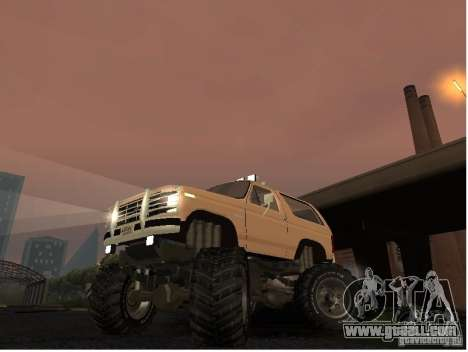 Ford Bronco IV Monster for GTA San Andreas