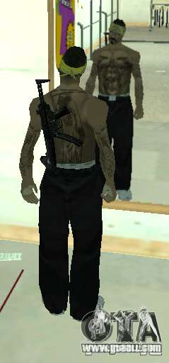 Vagos Gang Skins for GTA San Andreas