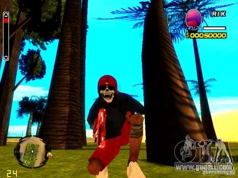 Skin bum v1 for GTA San Andreas