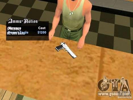 TeK Weapon Pack for GTA San Andreas ninth screenshot