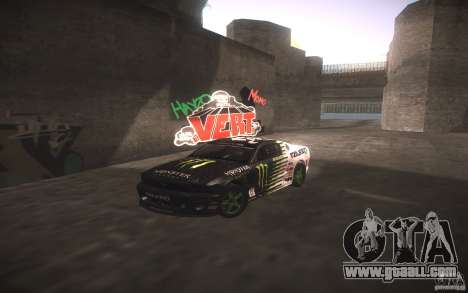 Ford Mustang Monster Energy for GTA San Andreas