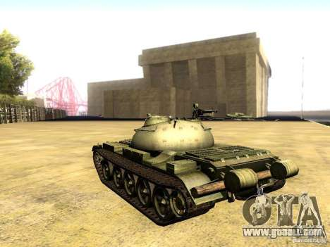 Type 59 V2 for GTA San Andreas left view