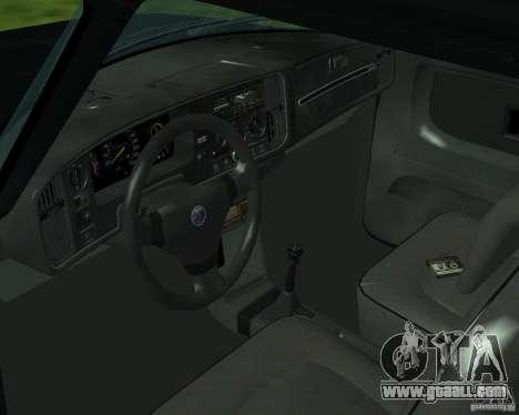 Saab 900 Turbo 1989 v.1.2 for GTA San Andreas upper view