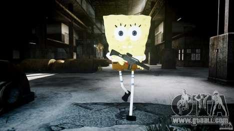 Spongebob for GTA 4 ninth screenshot