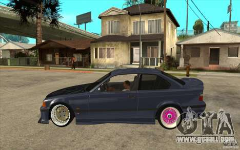 BMW E36 M3 Street Drift Edition for GTA San Andreas left view