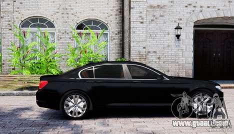 BMW 750Li for GTA 4 left view