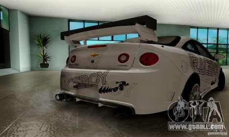 Chevrolet Cobalt SS for GTA San Andreas interior