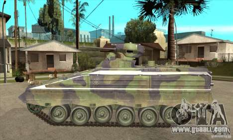 Marder 1A3 for GTA San Andreas left view