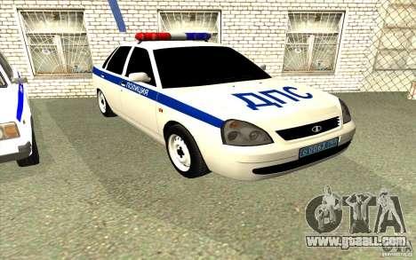 LADA 2170 DPS Samara for GTA San Andreas