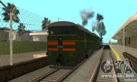 Locomotive 2te116 for GTA San Andreas