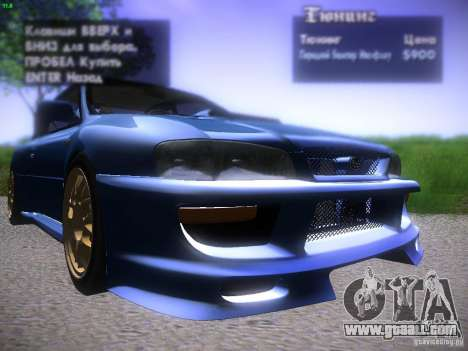 Subaru Impreza 22b Tunable for GTA San Andreas