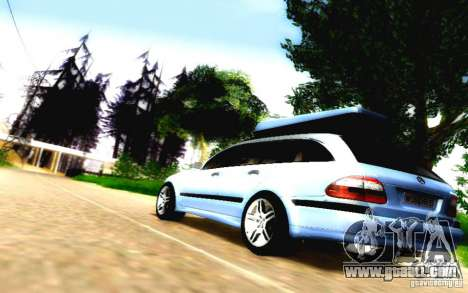 Mercedes-Benz E55 AMG for GTA San Andreas side view