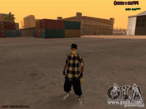 Vagos Skins for GTA San Andreas