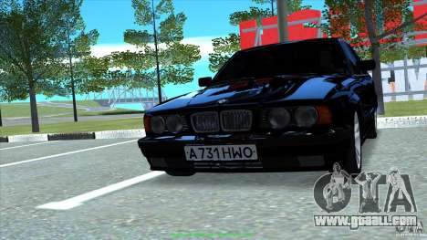 BMW E34 V1.0 for GTA San Andreas right view