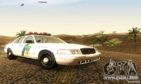 Ford Crown Victoria New Jersey Police for GTA San Andreas