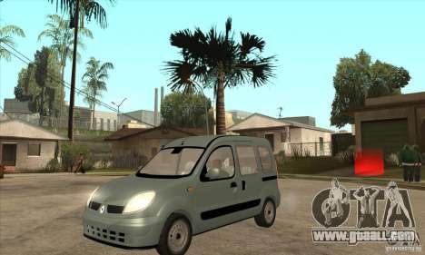 Renault Kangoo 2005 for GTA San Andreas