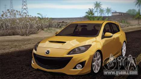 Mazda Mazdaspeed3 2010 for GTA San Andreas