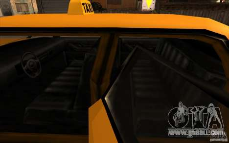 Oceanic Cab for GTA San Andreas back view