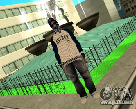 CripS Ryder for GTA San Andreas