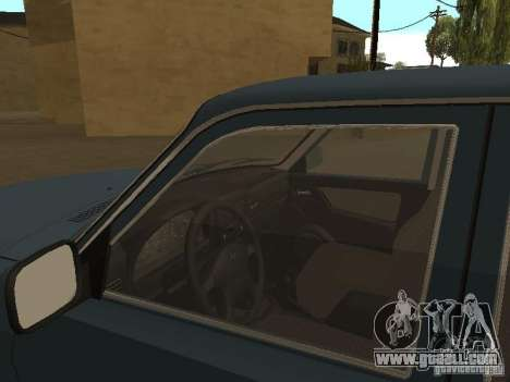 GAZ 3110 for GTA San Andreas back left view
