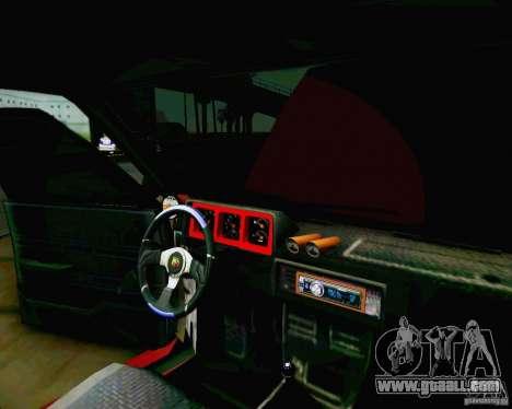 Tofas Dogan SLX DRIFT for GTA San Andreas right view