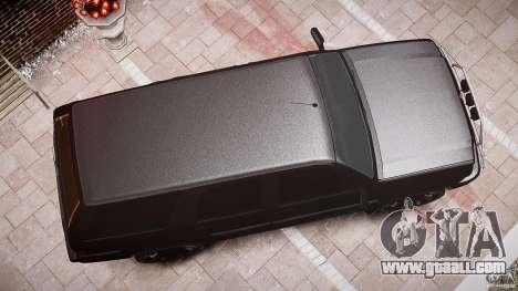 Cavalcade FBI car for GTA 4 upper view