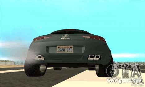 Alfa Romeo Brera of NFSC for GTA San Andreas side view