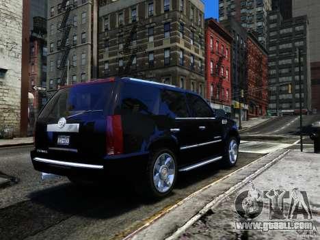 Cadillac Escalade v3 for GTA 4 right view