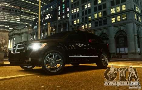 Dodge Caliber for GTA 4 inner view