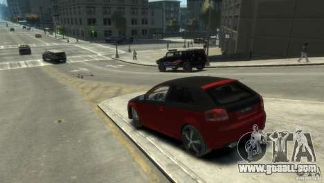 Audi BS3 O.CT Tuning for GTA 4 left view