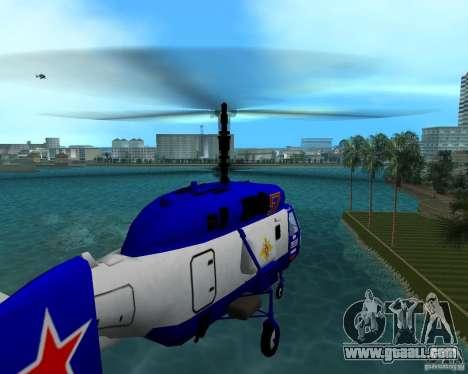 Ka-27 for GTA Vice City left view