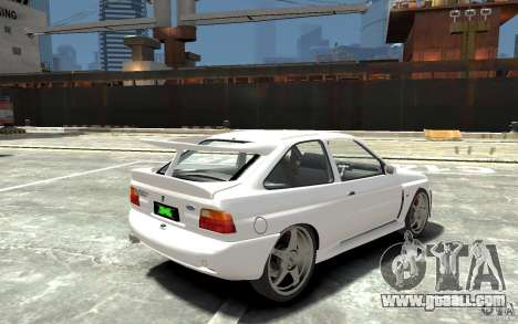 Ford Escort Cosworth for GTA 4 right view