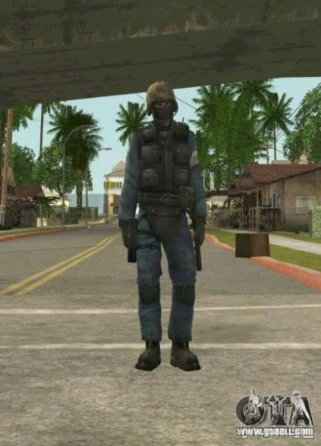 Counter-terrorist for GTA San Andreas fifth screenshot