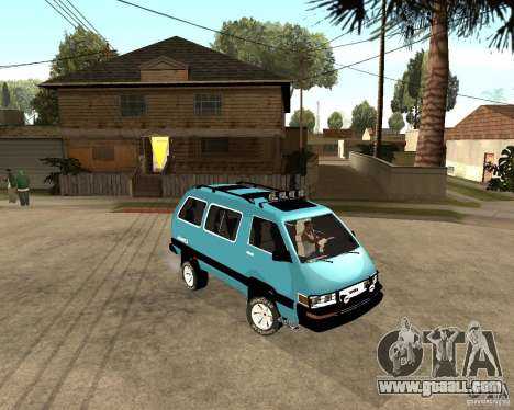 Toyota Town Ace for GTA San Andreas left view