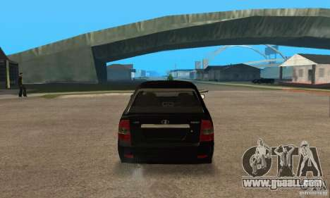 LADA priora 2172 hatchback for GTA San Andreas right view