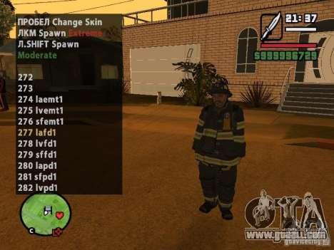 GTA IV peds to SA pack 100 peds for GTA San Andreas forth screenshot