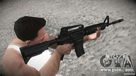 M4A1 for GTA San Andreas second screenshot