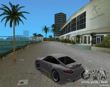 Porsche 911 Sport for GTA Vice City right view