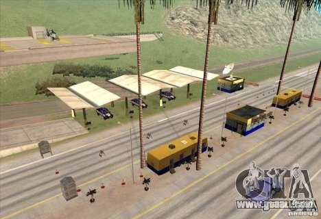 Police post 2 for GTA San Andreas