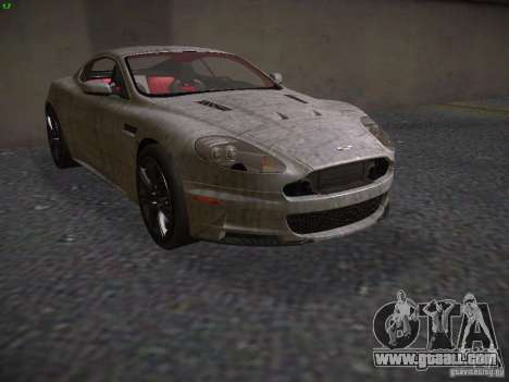 Aston Martin DBS for GTA San Andreas side view