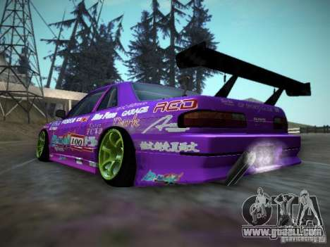 Nissan Silvia S13 Team Burst for GTA San Andreas right view