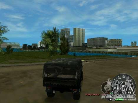 Ural 4320 Military for GTA Vice City right view